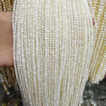 Load image into Gallery viewer, 2/3/4/6/8/9/10mm 15.5inch Strand Natural White Shell Beads