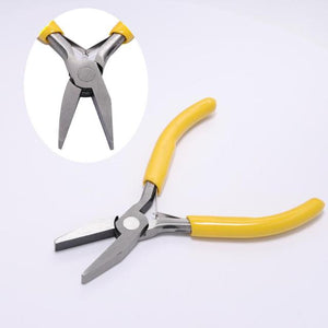 Flat Nose Plier for Jewelry DIY