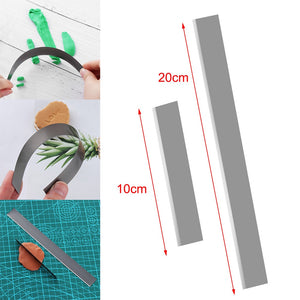 1 Piece Flexible Long Blade for Polymer Clay DIY