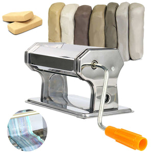 Stainless Steel Polymer Clay Rolling Machine Press Roller