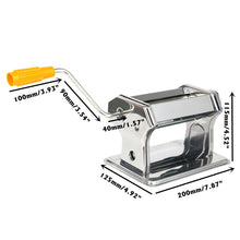 Load image into Gallery viewer, Stainless Steel Polymer Clay Rolling Machine Press Roller