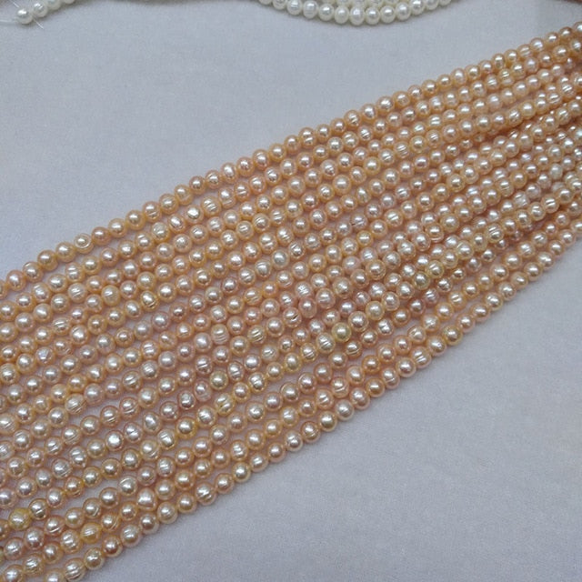 pink pearl beads