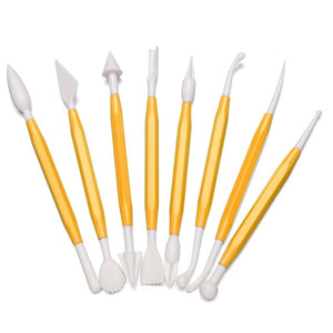 8pcs Modeling Tools for Polymer Clay Craft