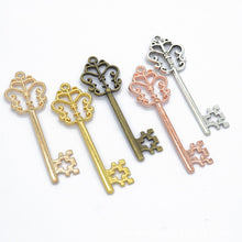 Load image into Gallery viewer, 10pcs Vintage Key Charms Pendants