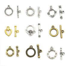 Load image into Gallery viewer, 2-3cm 10 Sets OT Clasp/Toggle Clasp for Bracelet and Necklace Jewelry DIY (18 Styles)