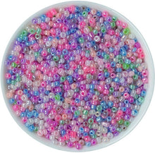 Load image into Gallery viewer, 1000pcs 2mm Glass Solid Color Seed Beads (45 Colors)