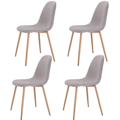 Set of 4 Pcs Modern Dining Accent Side