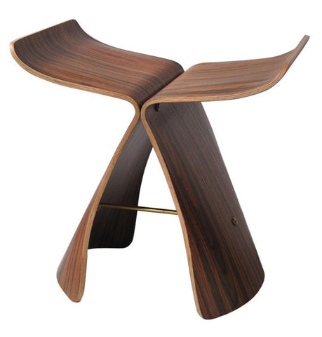 Butterfly Stool - Rosewood - Reproduction