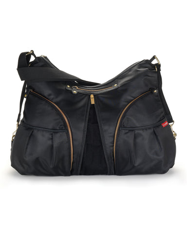 Skip Hop Versa Extendable Diaper Bag In Black