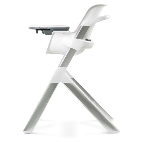 4 Moms High Chair - White Grey