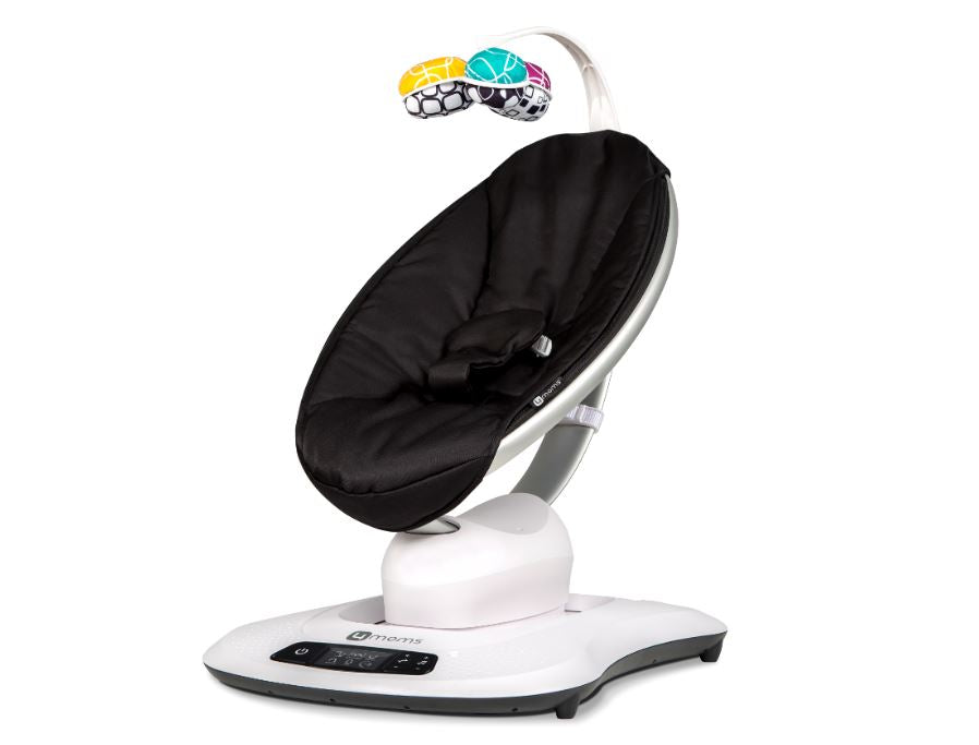 4 Moms Mamaroo 4 Infant Seat - Black Classic