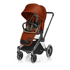 Cybex Priam Complete Stroller - Chrome Frame - Autumn Gold