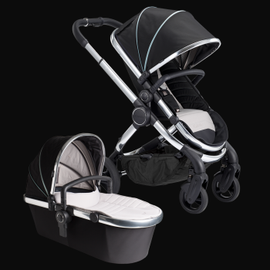 New icandy Peach Stroller - beluga