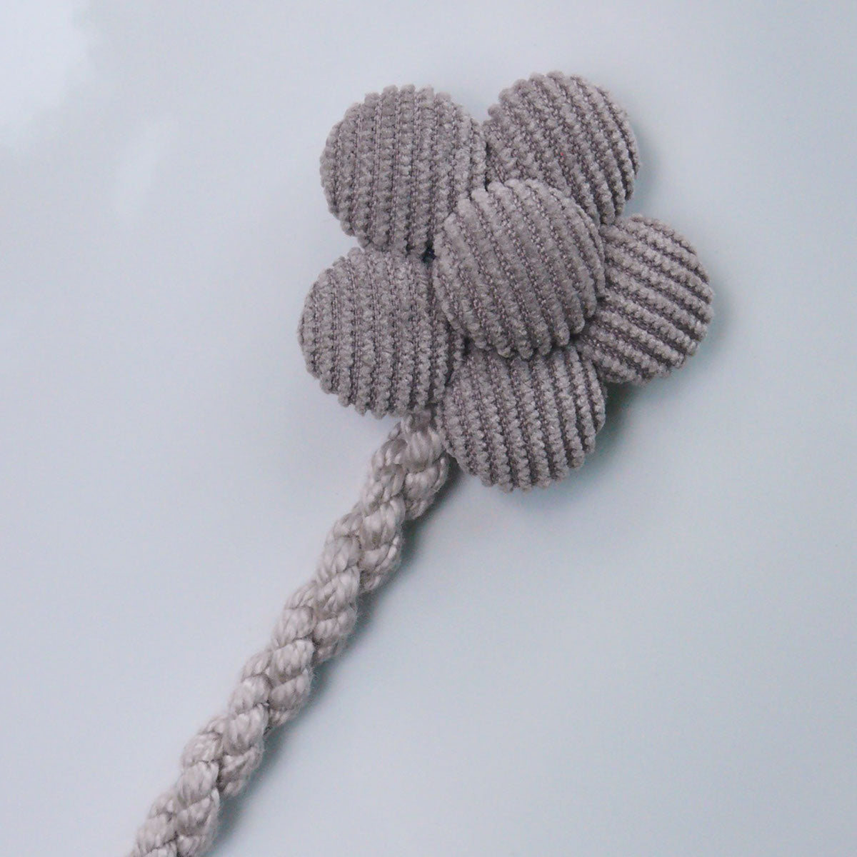 Knots NY Poppy Pacifier Clip