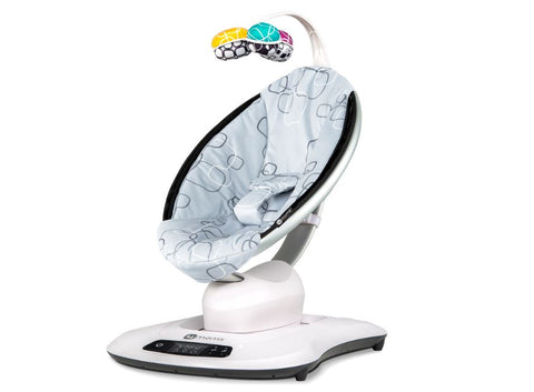 4 Moms Mamaroo 4 Infant Seat - Silver Plush