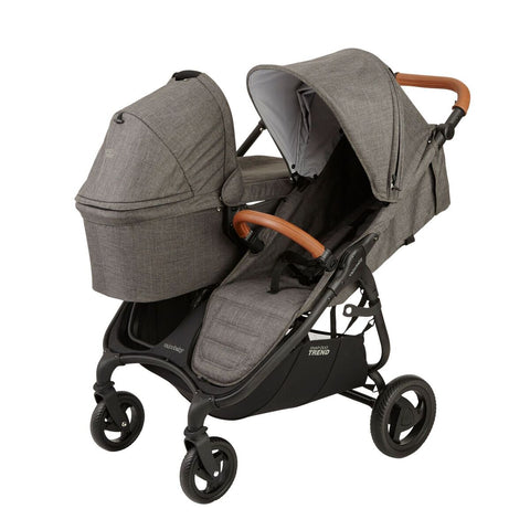 Valco Baby Snap Trend Duo Bassinet - Charcoal