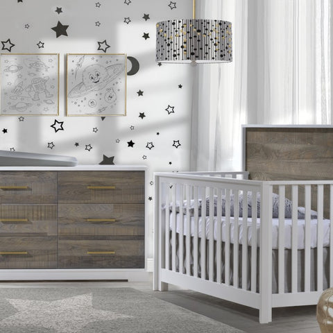 Nest Vibe Double Dresser Brown Bark                  -                              Allow 8-12 Weeks For Delivery