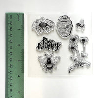 Bee, Bee lover, clear stamp set, bee stamp