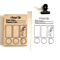 Swatch Rubber Stamp, swatch, swatch stamp