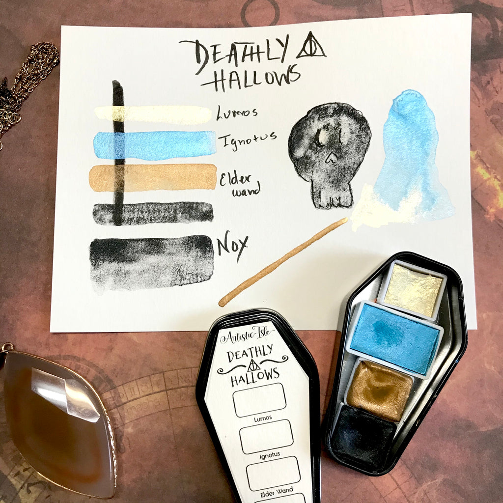 Deathly Hallows Set, Wizard, PotterHead