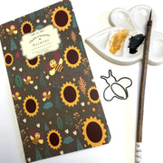Bee Sketch book, journal, bee