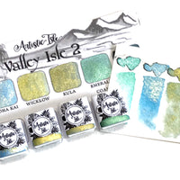 Valley Isle 2, watercolor set
