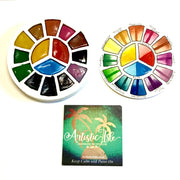 Rainbow Summer, Color Wheel Palette Set