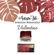 Valentine , red, orange, metallic, color shift