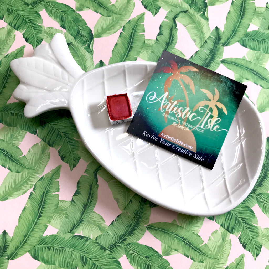 Pineapple Porcelain Palette
