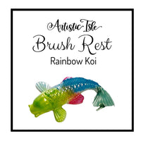 Koi Fish Brush Rest