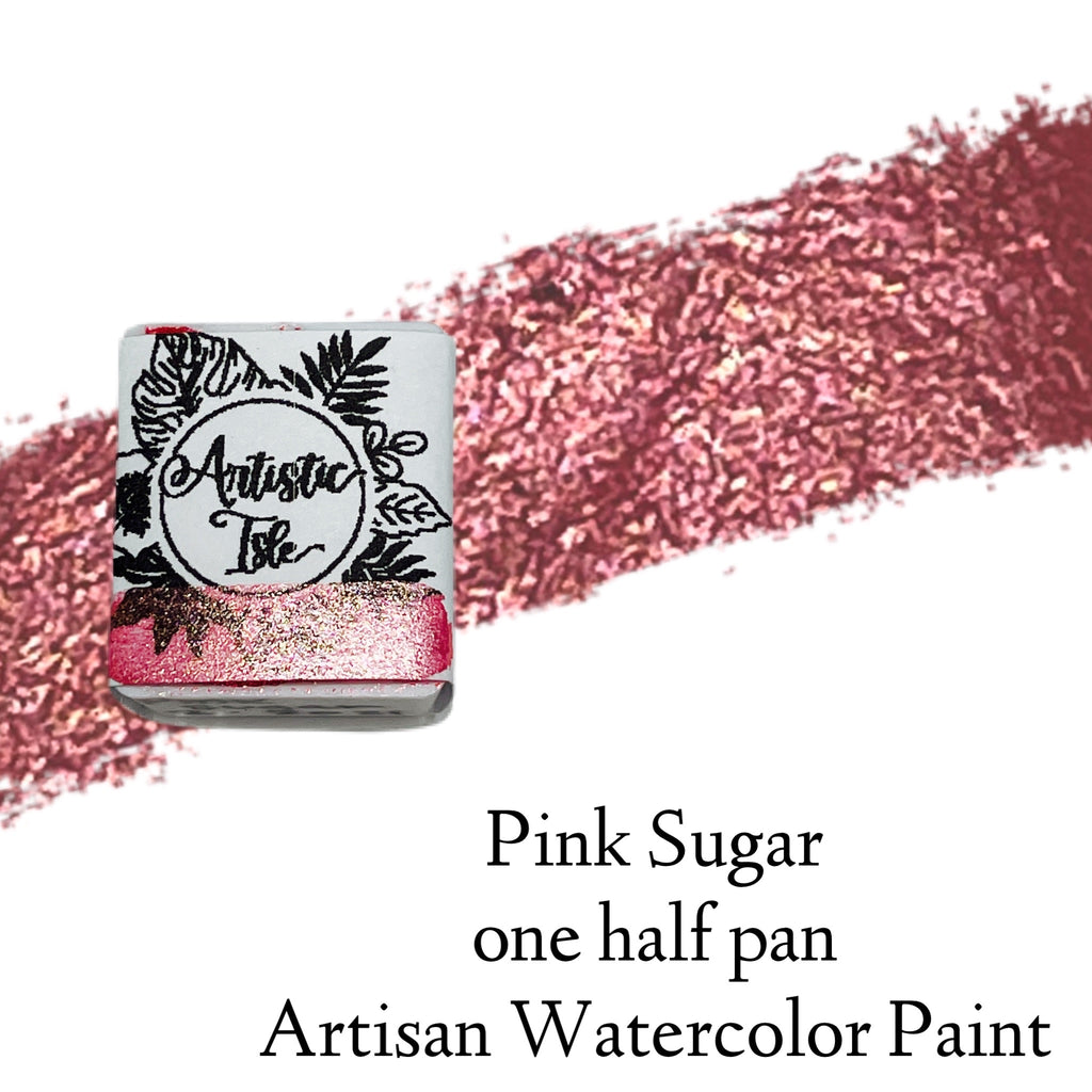 Pink Sugar, pink, metallic, color shift