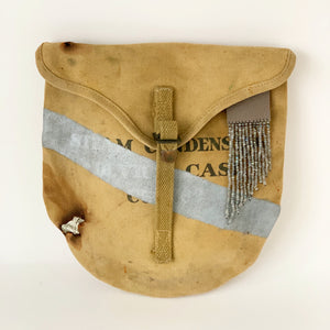 Vintage Army Bag Clutch