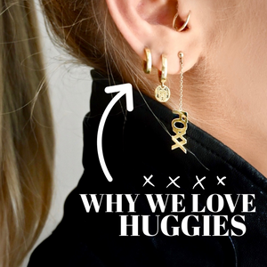 Why You Need Huggie Earrings. Now.