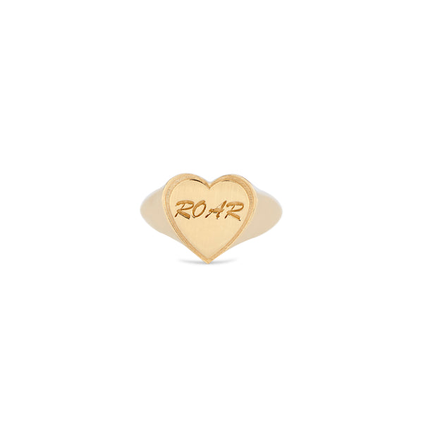 Roar Heart Ring