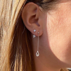 Diamond Moondrop Earring