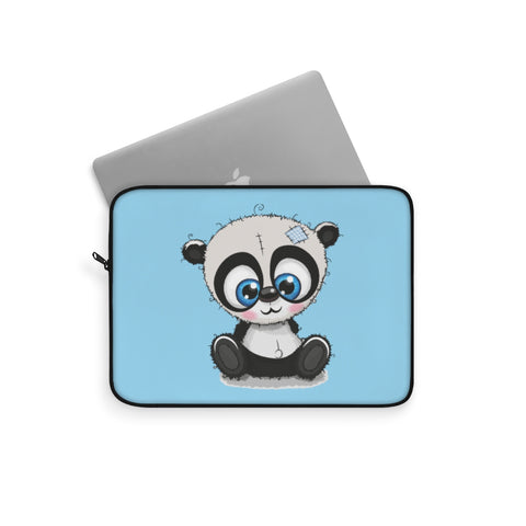 Laptop sleeve - Sew panda blue color | Laptop bag