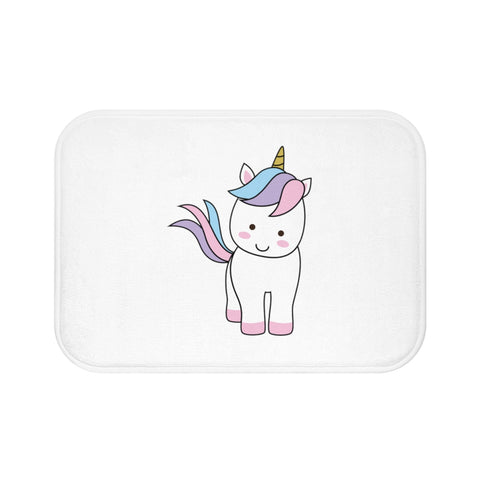 Home decor - Unicorn standing bath mat | Custom bath mat | Personalized gift