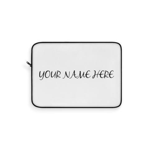 Personalized Laptop Sleeve with custom name