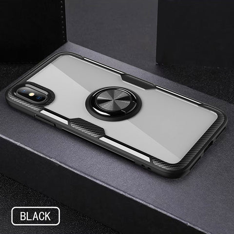 For iPhone x / xs / xr / xs Max Case Shockproof Protective Ring Cover