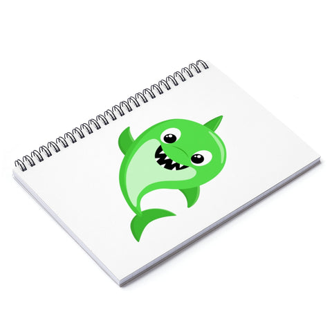 Notebook - Baby shark green