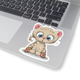 Laptop Sticker - Cute Kitty