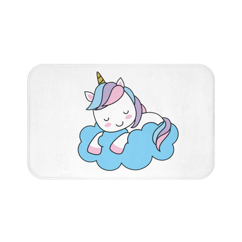 Bath mat - Sleeping unicorn | Kids bath mat