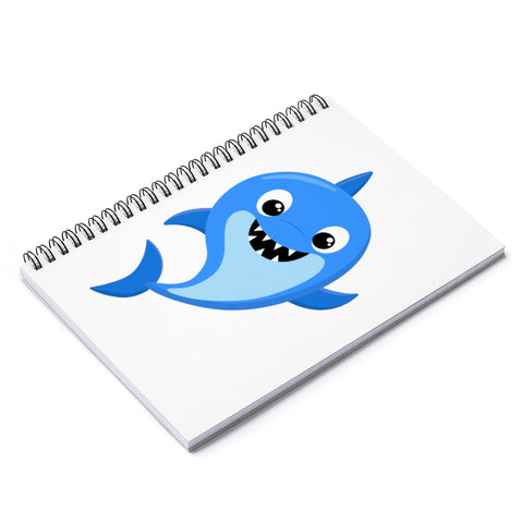 Notebook - Baby Shark Blue