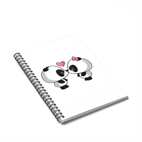 Notebook - Panda Kissing