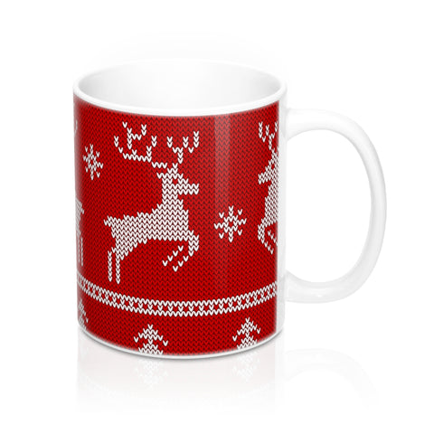 Christmas mug - Red Reindeer | Coffee Mug