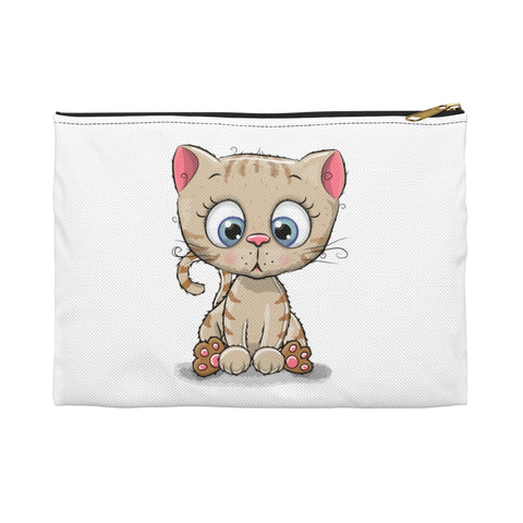 Accessory Pouch - Cute Kitty | Custom Pouch