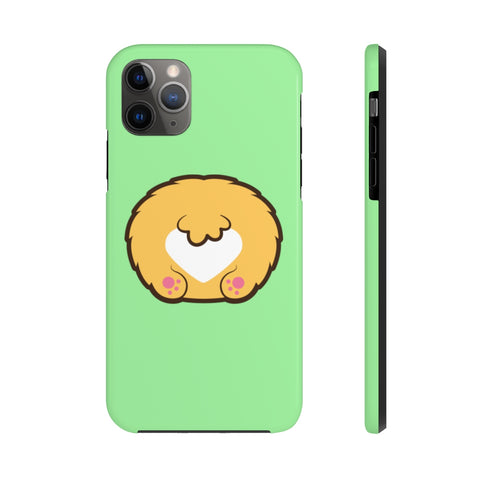 iPhone xr cases - Light green color corgi butt | iPhone cases mate tough