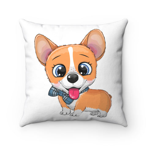 Home decor - Corgi smile | Cushion Cover | Personalized gift