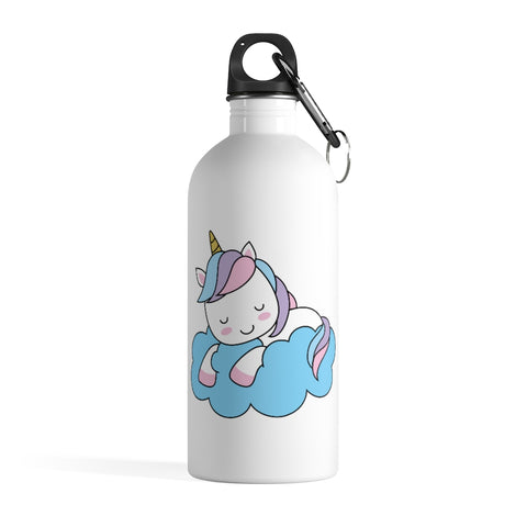 Stainless steel water bottle - Unicorn cloud