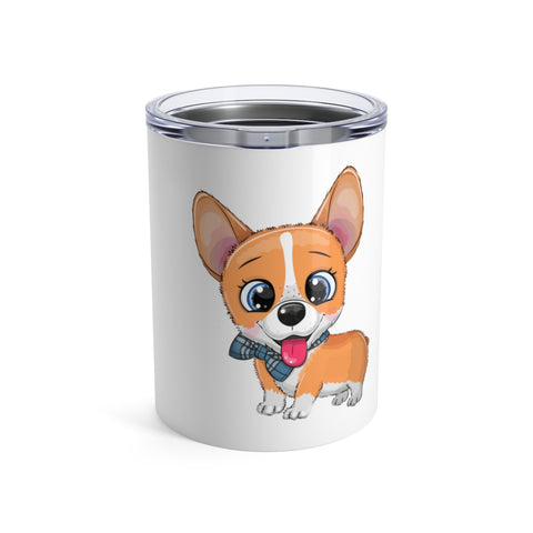 Personalized tumbler - Cute Corgi | Custom tumbler | Personalized gift